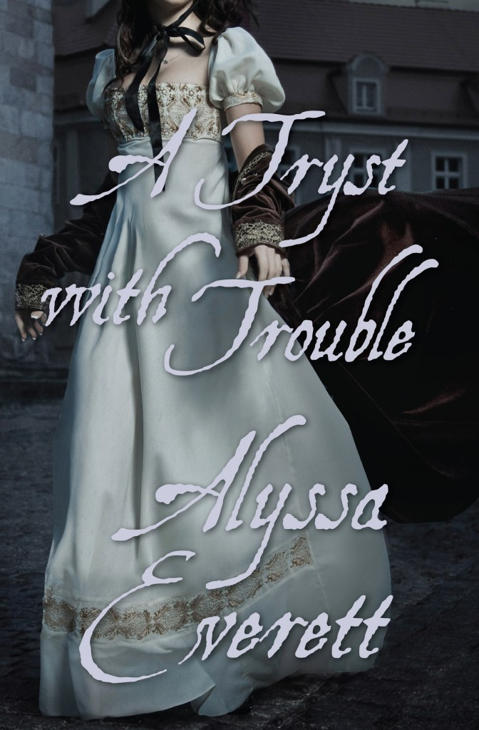 A TRYST WITH TROUBLE cover art