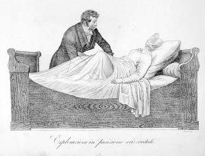 1815 physician with obstetric patient