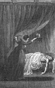 Illustration from The Mysteries of Udolpho