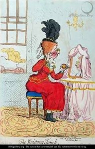 The Finishing Touch by James Gillray