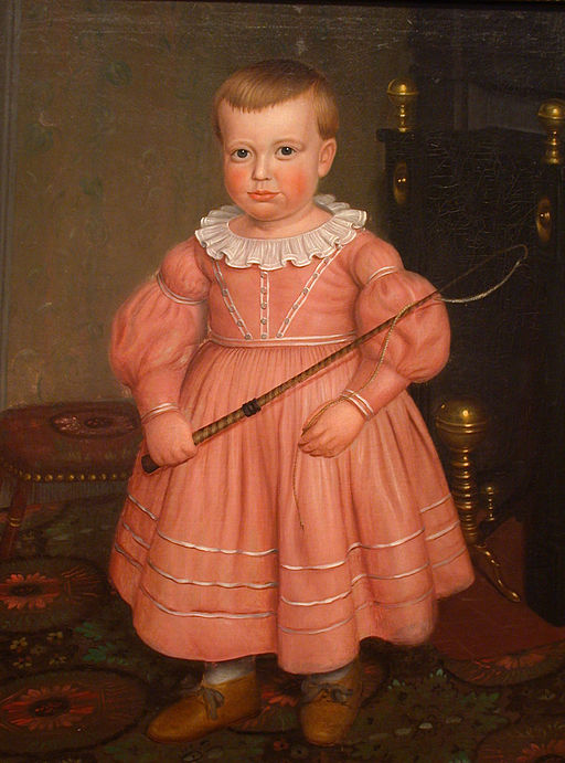 19th c. boy with whip