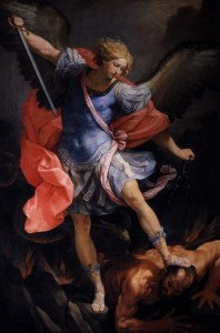 St. Michael the archangel by Guido Reni