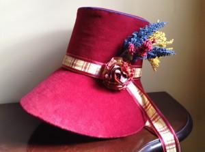 regency poke bonnet