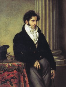 1815 portrait of Count Sergey Uvarov